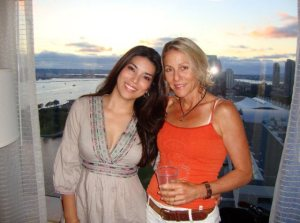 Soul sisters united in health and healing FROM THE INSIDE OUT! Adriana & Donna August 2010